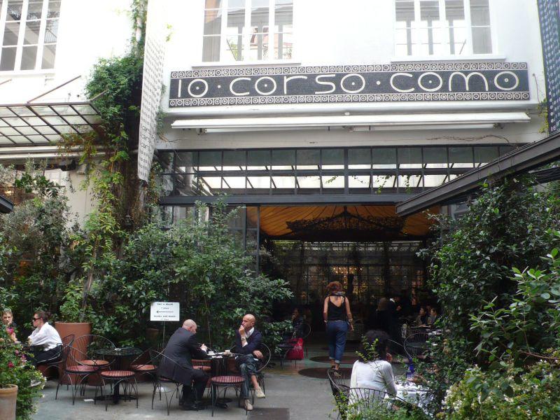 café restaurant corso como 10, milan