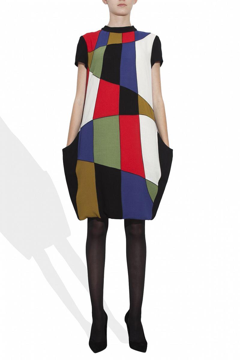Andreea Tincu: Patchwork Dress