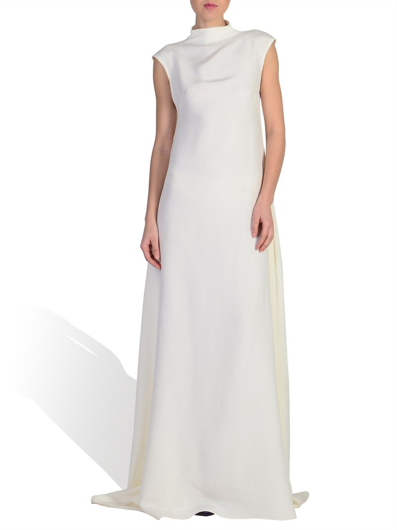 Parlor: Silk Crepe Gown