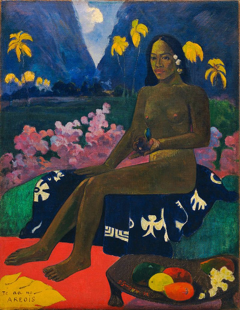 Te aa no areois (The Seed of the Areoi – Fata din Tahiti), 1892, The Museum of Modern Art