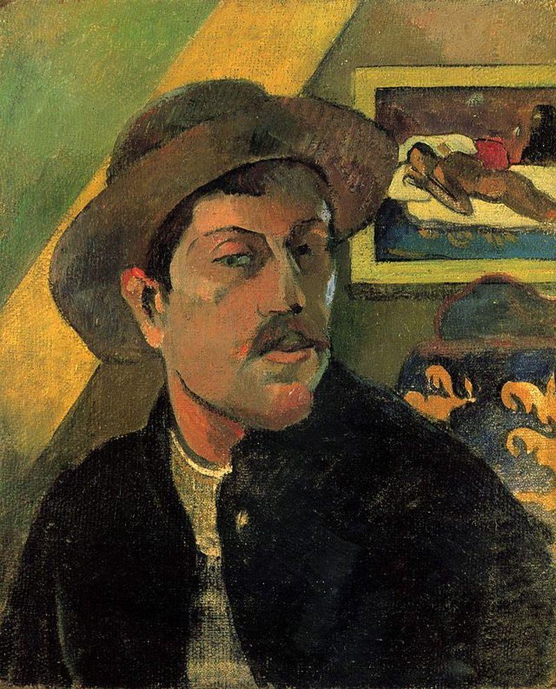 Self-portrait, 1893, Musée d'Orsay
