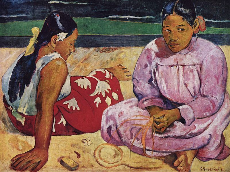Tahitian Women on the Beach (1891)